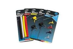 Nash Zig Screws + Foam Sticks *All Colours Available* BRAND NEW Zig Fishing