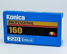 Konica Professional 160 - 5-pack 220 roll film expired