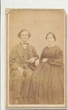 1860s ANTIQUE CDV PHOTO CIVIL WAR TAX REVENUE STAMP CARTE de VISITE #40
