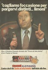 X4633 Caramelle assortite CHARMS - Alemagna - Pubblicità 1977 - Advertising