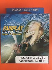 Cortland FairPlay Level L5F Floating Fly Line 25Yards FREE SHIPPING