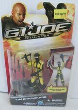 GI Joe Retaliation 2012 Kim Arashikage Sealed MOC Hasbro BZ302