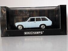Minichamps 1:43 - Opel Ascona Voyage 1970 - light blue - 400 045810 - Mint