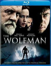 The Wolfman (2010) Blu-ray Emily Blunt NEW