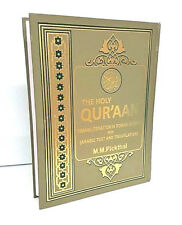 The Holy Quran Arabic/English Translation & Transliteration- M M PICKTHALL- HB)