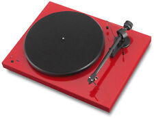 Pro-Ject Debut RecordMaster Plattenspieler Rot elek.33/45 RPM USB out Phono-Vors