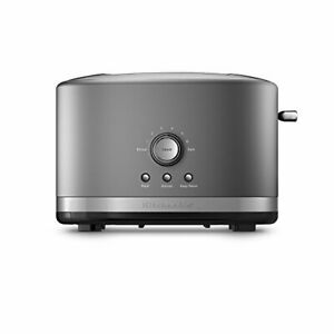 KitchenAid KMT-2116QG Extra Wide 2-Slice Electric Toaster with High Lift Lever