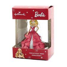 Hallmark Barbie Red Dress Christmas Tree Ornament - New in Box!