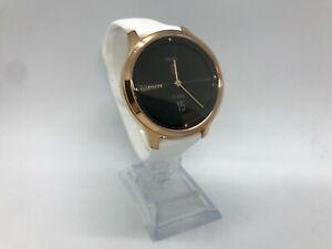 Garmin Vivomove Luxe Sapphire 18K Gold PVD GPS Sport Running Smartwatch