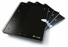 Livescribe A4 Grid Numbered 1 to 4 Notebooks (Pack of 4)