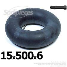 Chambre à air 15 x 600 x 6 valve droite
