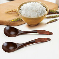 Home Kitchen Cooking Utensil Teaspoon Coffee Wooden Spoon Soup Dessert