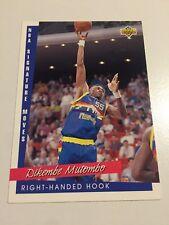 1993 Upper Deck NBA Signature Moves Basketball Card #246 Dikembe Mutombo