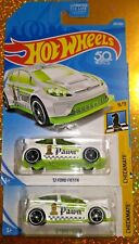 (2) HOT WHEELS CHECKMATE '12 FORD FIESTA  #9/9 or #263/365