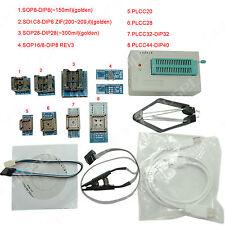 TL866A programmeur usb eprom flash bios 8+2 adaptateur extracteur clip pour 13000 ic