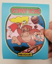 Donkey Kong  cabinet art sticker. 4.5 x 5.5. Buy any 3 stickers, GET ONE FREE!