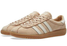 bnib ADIDAS BERMUDA uk 7.5 pale nude / clear brown  / gum sole spzl BY9654