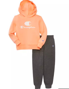 Bnew Champion® Girls Fleece Hoodie Set, Size 5 only