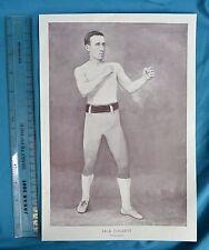 Original 1894 Antique print Portrait Gallery of pugilistes Jack Fogarty Boxer