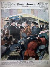 SOCIETE DES CENT KILOS AUTOBUS POUR BELLEVILLE CHASSE KENT LE PETIT JOURNAL 1924
