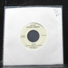 "Donna Summer - This Time I Know It For Real 7"" Mint- 7-88899DJ Vinyl 45 Promo"