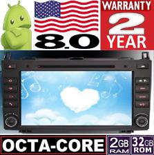 """ANDROID 8.0 MERCEDES A B W169 W245 VIANO VITO SPRINTER 8"""" GPS RADIO CAR 3G AUTO"""