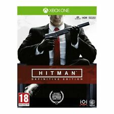 Hitman Definitive Edition (Xbox One)  BRAND NEW AND SEALED - QUICK DISPATCH