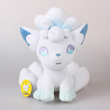 "New 10.6"" 27Cm Licensed Pokemon Vulpix Alola Plush Toys Soft Stuffed Animal Doll"