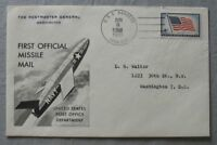 s1101) Raketenpost USA First Official Missile Mail USS Barbero 1959