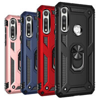 For Motorola Moto G Fast Case Shockproof Heavy Duty Ring Stand Phone Case Cover