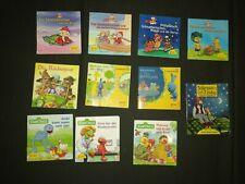 10 Pixie Bücher Sandmännchen Seesamstr. Kikaninchen + 1 Findus u. Petterson
