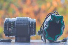 Canon Macro FD 100mm f4.0 - FD Mount Obiettivo per Sony NEX, MFT NEX