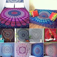 Indian Tapestry Wall Hangings Mandala Hippie Bedspread Throw Sofa Covers Beach