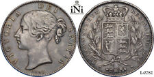iNi  Great Britain, Victoria, CROWN 1845, VIII, toned, VF-XF