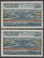 "FRANCE TIMBRE N° 1507 "" USINE RANCE VARIETE ILE SECTIONNEE "" NEUF xx TTB K126H"