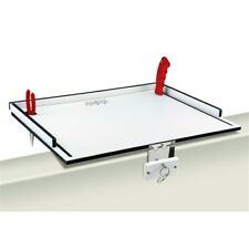 "Magma 51015M MAGMA ECONO MATE BAIT FILET TABLE 20"" WHITE BLACK WHITE"