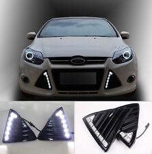 For Ford  Focus Car LED Daytime Running Light Fog Lamp DRL 2011 2012 2013 2014