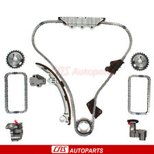 Timing Chain Kit Fits 01-04 Nissan Pathfinder Infiniti QX4 3.5L 3498CC VQ35DE