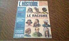 l'histoire n° 214 octobre 1997 le racisme des origines aux genocides du XXe siec