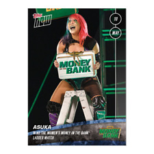 2020 TOPPS NOW WWE #31 ASUKA (PRE-SALE) MONEY IN THE BANK (PR 155)