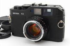 【Mint ++】Voigtlander Bessa R2 Black w/ Nokton Classic 40mm f/1.4 from Japan #318