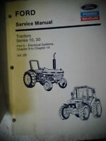 Ford New Holland Tractors Series 10, 30 Service Manual 2600 to 8210 Vol. 2B