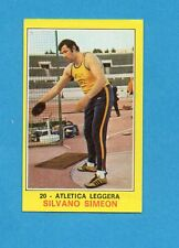 CAMPIONI dello SPORT 1970-71-Figurina n.21- SIMEON - ATLETICA LEGGERA -NEW