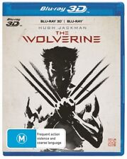 The WOLVERINE : NEW Blu-Ray 3D