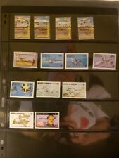 Antigua & Barbuda Aircraft & Aviation Stamps Lot of 22-MNH-See Details for List