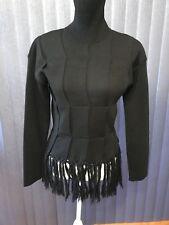Jean Paul Gaultier Black Sweater Size S