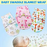 Baby Newborn Swaddle Blanket Wrap Sleeping Bag Warm Knitted Fleece Stroller Sack