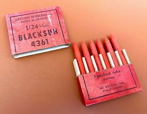 """Antique """"Blacksun 4361"""" Pastel Pencils Box, NOS (#AR3587)"""