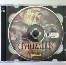 Civilization III (2001) CD Game Plus Bonus Disc (2 Pack)