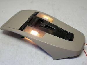 05-07 Volvo S40 V50 Overhead Dome Light Lamp Console W/ SUNROOF TAN 30676452 #2